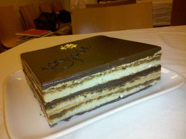 opera cake how to make